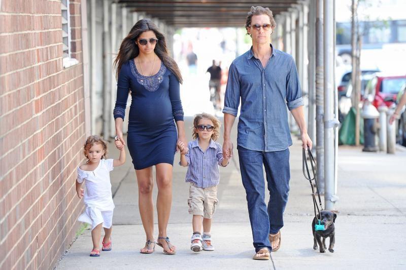 Garsus Holivudo aktorius M. McConaughey vėl tapo tėčiu