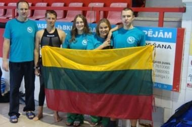 Nardymo meistrai pagerino Lietuvos rekordus