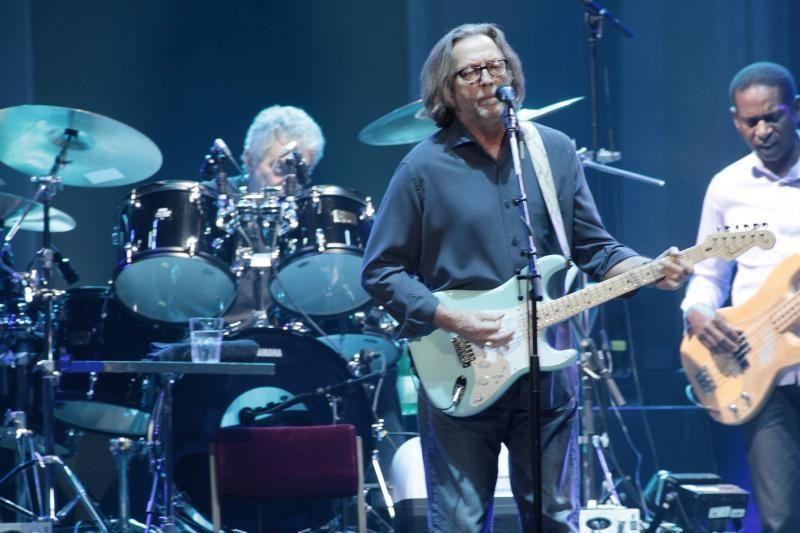 Prieš koncertą Lietuvoje – E. Claptono pasirodymas milijardui žiūrovų