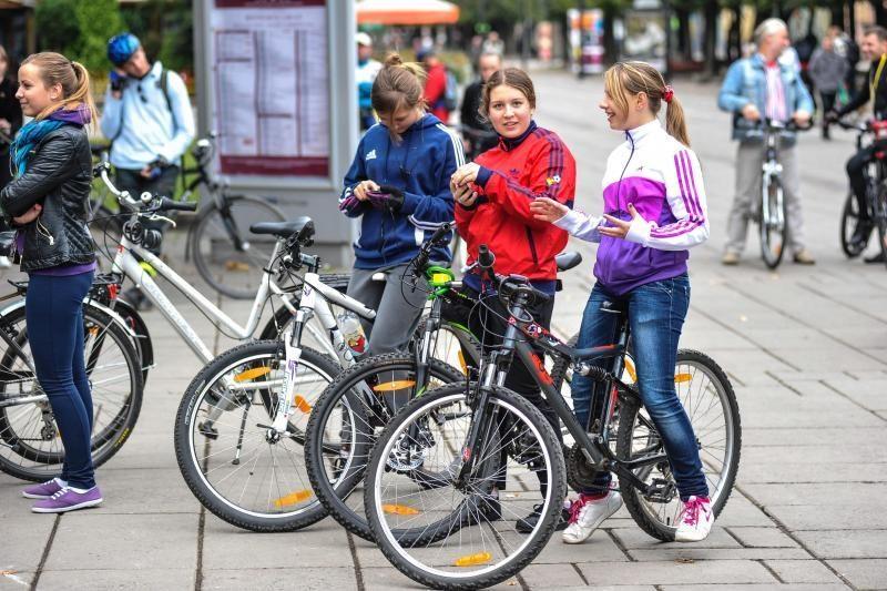 Kauno policija pataria labiau saugoti dviračius