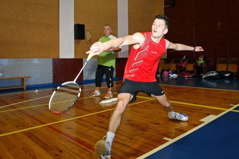 K.Navickas suklupo Škotijos badmintono turnyre