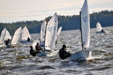 Rudens vėjas palankus Lietuvos buriuotojams