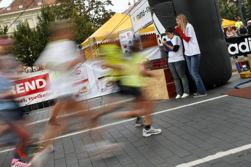 Lietuvos 10000 m bėgimo čempionais tapo M.Vilčinskaitė ir M.Stanys