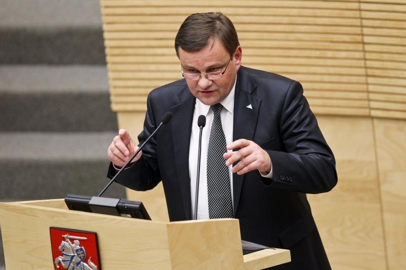 V. Gedvilas: būtina aktyvinti Lietuvos ir Lenkijos valdžios diskusijas