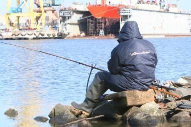 Leidimų žvejybai kasmet išduodama vis daugiau