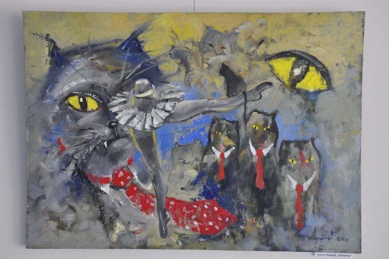 Vilniaus Užupio tapyba eksponuojama Klaipėdoje