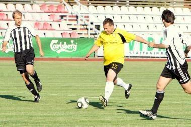 Kovą LFF taurėje tęsia aštuonios žemesnių lygų komandos