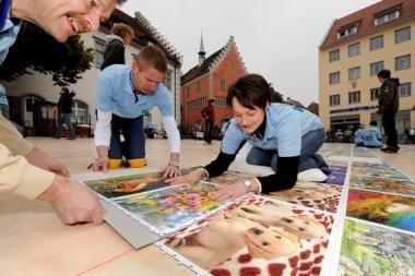 Vokiečiai surinko didžiausią dėlionę pasaulyje
