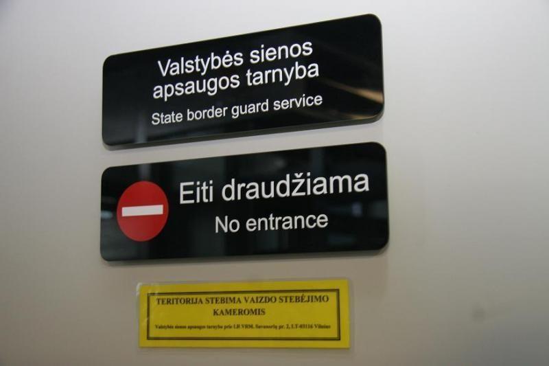 Pasieniečiai sulaukė tris bulgarais apsimetusius nelegalius imigrantus