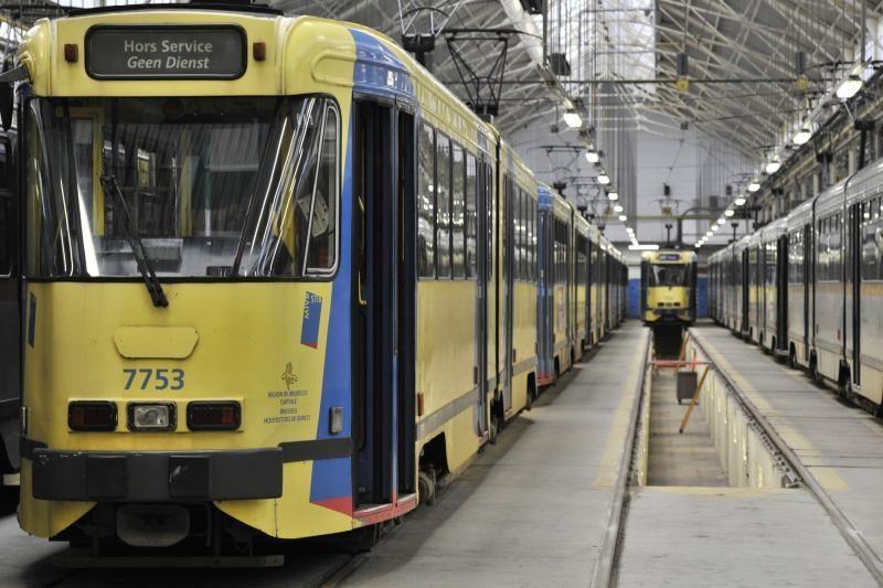 Briuselyje nebedirba visuomeninis transportas