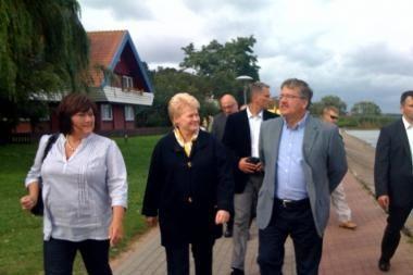 Lenkijos prezidentas B.Komorowskis atostogauja Neringoje