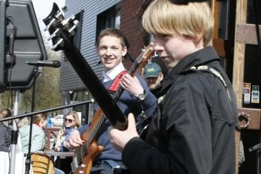 Klaipėdos senamiestyje aidėjo muzika