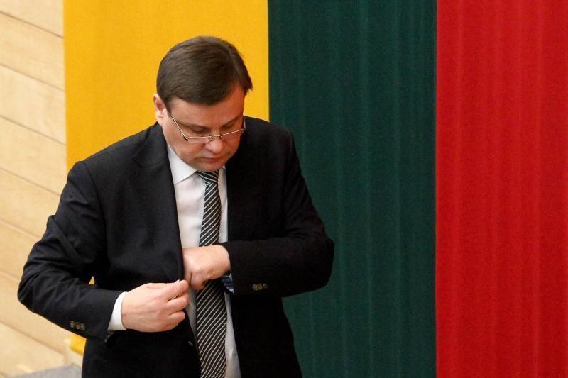 Seimo pirmininkas V.Gedvilas antro vizito vyks į Estiją