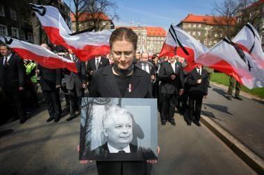 Krokuva prieš L.Kaczynskio laidojimą Vavelio pilyje (papildyta)
