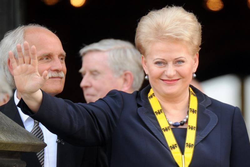 Prezidentė: lietuviai buvo priimti kaip tikri europiečiai