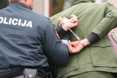 Plėšikas Kaune sulaikytas po grumtynių