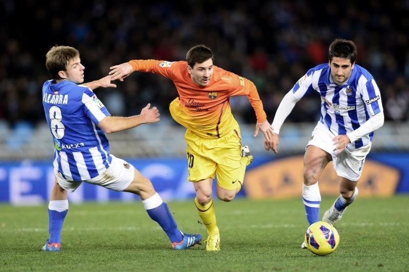 """""""Barcelona"""" pirmą kartą suklupo prieš """"Real Sociedad"""""""
