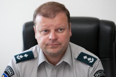 Generalinis komisaras: rinktis policininko profesiją paskatintų lengvatinės paskolos būstui