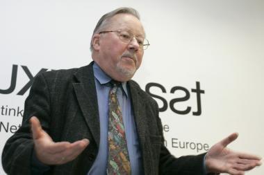 V.Landsbergis Vilniuje skaitys paskaitą apie diplomatiją