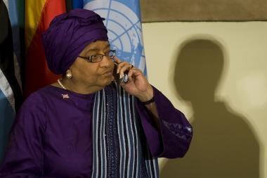 Liberijos diktatoriaus sūnus kankino žmones?