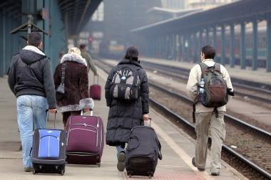Britanijos valdžiai rekomenduojama imigrantų skaičių sumažinti 25 proc.