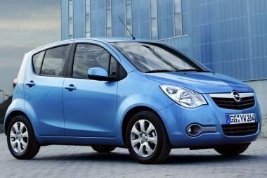 """""""Opel Agila"""" – ir su dujomis"""