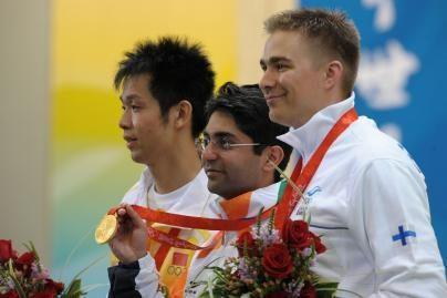 Kulkinio šaudymo auksą iškovojo Indijos sportininkas