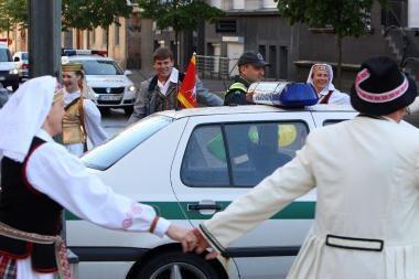 Viešąją tvarką Kauno dienų metu stebi policija