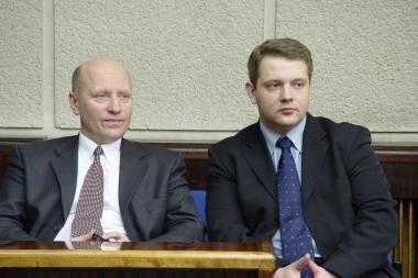 E.Masiulis ir R.Palaitis perėmė ministrų porfelius