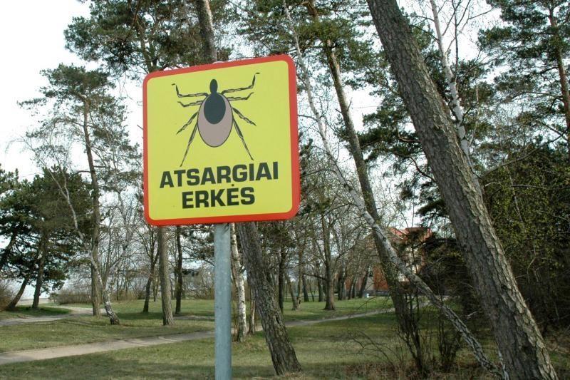 Vilniuje nuo erkinio encefalito mirė vyras