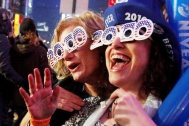 Pasaulis tikisi laimingesnių Naujųjų metų