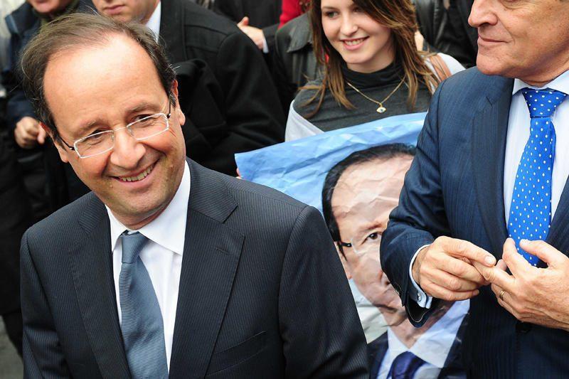 """F.Hollande'as neabejoja savo pergale ir vadina ją """"vilties momentu"""""""