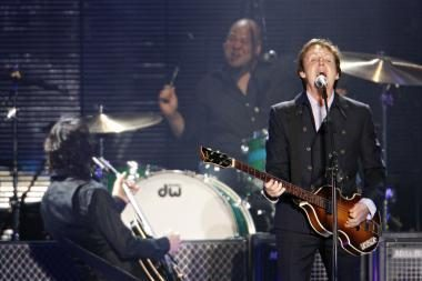 P.McCartney koncertuos Izraelyje