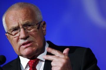 Čekijos prezidentas: Lisabonos sutartis yra atgyvenusi