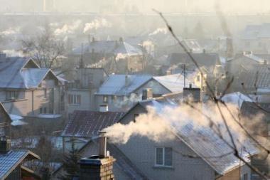 Kaminų dūmų ženklai - orui nuspėti