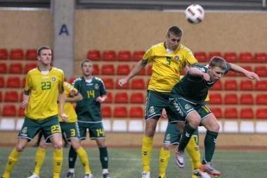 Nacionalinės futbolo rinktinės rezervas įveikė jaunimą