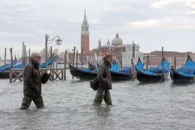 Venecija tapo banglentininkų rojumi