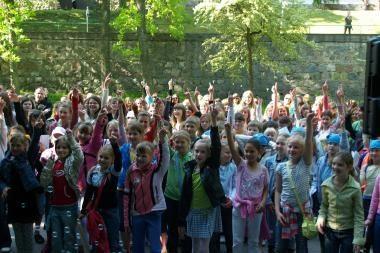 Kretingoje - jubiliejinė vaikų bažnytinių chorų šventė