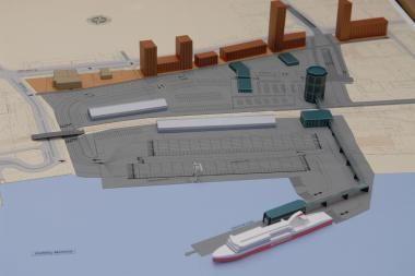 Brangiausias kitų metų jūrų uosto projektas - Keleivių terminalas
