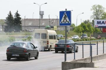 Dauguma Klaipėdoje važinėjančių automobilių - tvarkingi