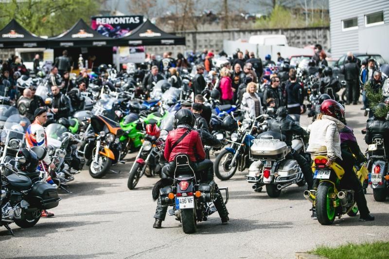 Kauno policija žada auklėti chuliganiškus motociklininkus