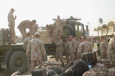 Misiją nutraukusių karių veiksmus įvertins karo policija