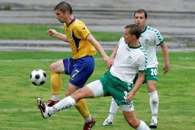 Algų negavę futbolininkai į rungtynes neatvyko