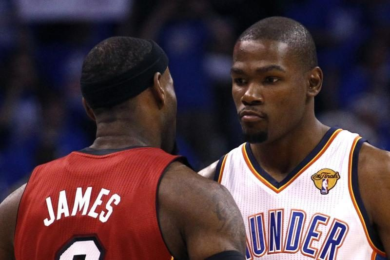 NBA laurai kol kas atitenka K. Durantui (specialistų komentarai)