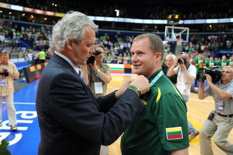 Auksinė rinktinė apdovanota KKSD medaliais