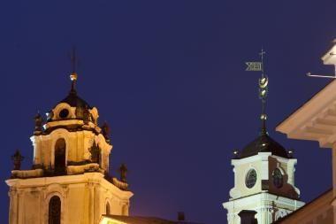Po bažnyčios skliautais skambės vargonų ir smuiko muzika