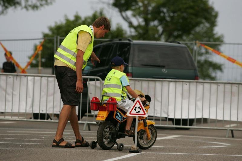 Saugus eismas – neatsiejama lenktynių dalis