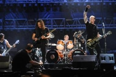 """Sunkioji """"Metallica"""