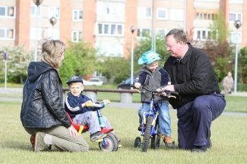 Ryšius šeimose stiprinti - specialūs mokymai