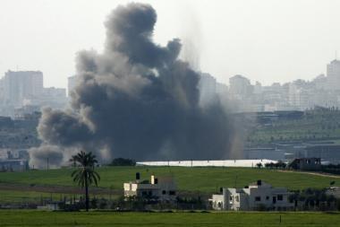 Izraelis toliau atakuoja Gazos Ruožą